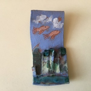 Fish Fly matchbook