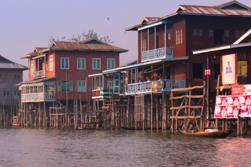 Houses on stilts