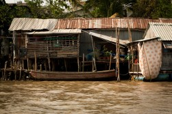 Stilt house in the Mekong Delta