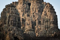Bayon temple in early sunshine