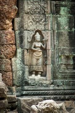Wall Statue Angkor