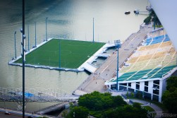 The worlds' largest stadium on waters