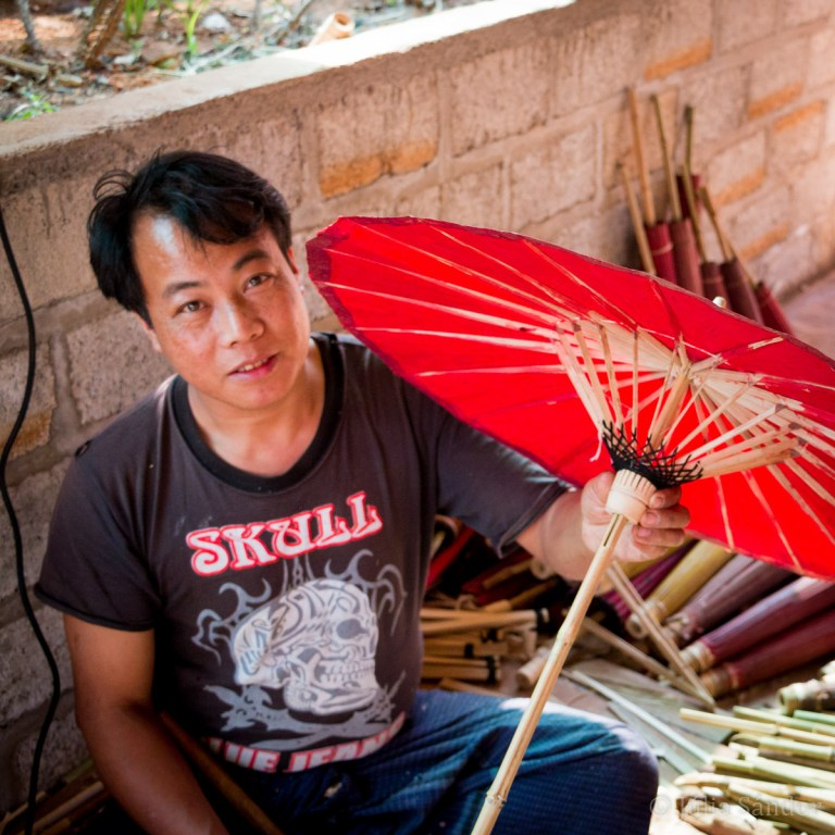 Shan Umbrella Maker