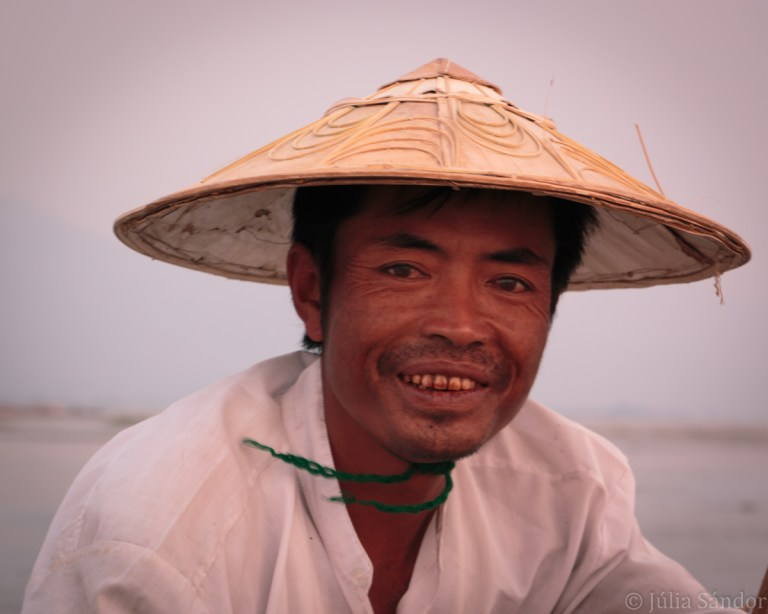 burmese man smiling