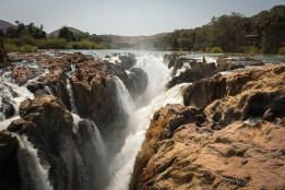 Epupa Falls - 60 meters in the deep