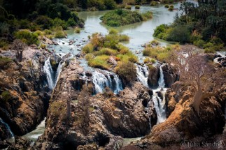 Epupa Falls from above
