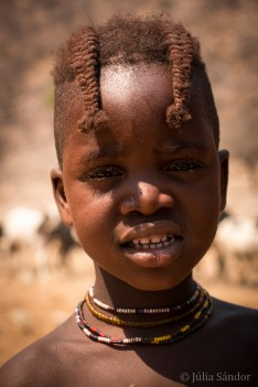 5-year old Himba boy with the typical haircut