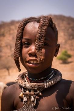 9-year old Himba boy