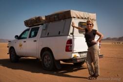 Julia with bushcamper
