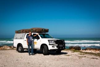 Bushcamper on the beach