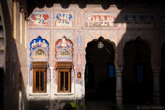 First coutryard of the haveli