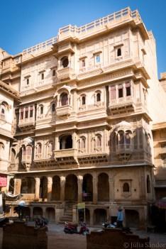 Patwa Haveli from outside