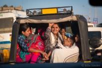 In the rickshaw