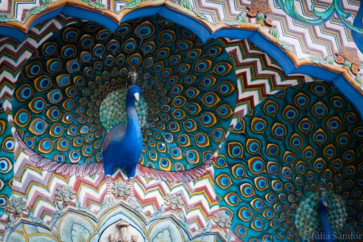 India impressions: Interior decoration of the Jaipur City Palace