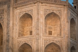 Taj Mahal at the golden hour