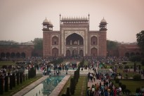 Masses at the Taj Mahal
