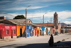 The city of Uyuni