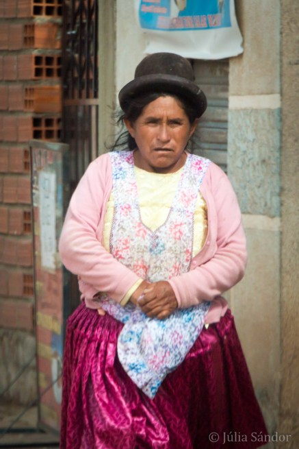 Bolivian lady