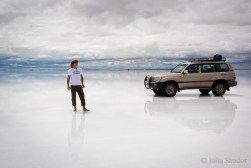 Finally at the Salar Uyuni - unbelievable dimensions
