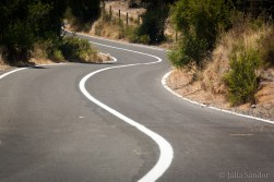 The always winding roads in the valley