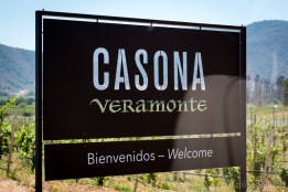 Our first (and excellent) winetasting in Chile took place in the Casona Veramonte