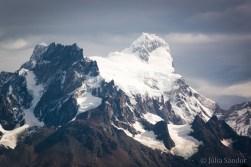 Glaciers up to the top of Cerro del Torre