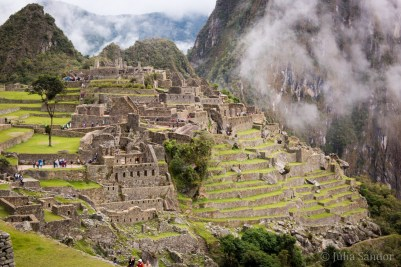 Machu Picchu in full sunlight