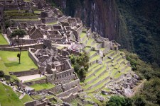 Machu Picchu in full sunlight