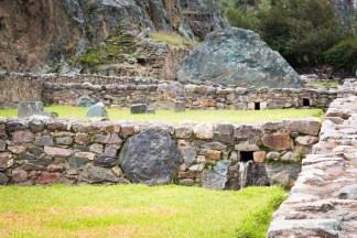 The Inca irrigation system is still working today