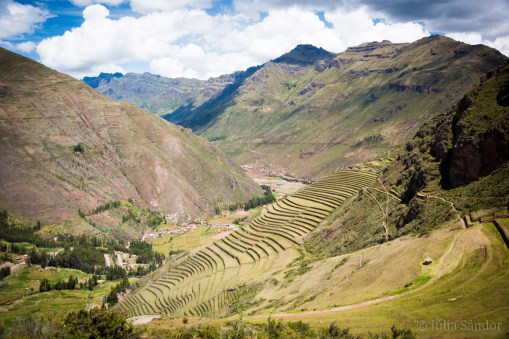 Sacred Valley Peru: Pisac view
