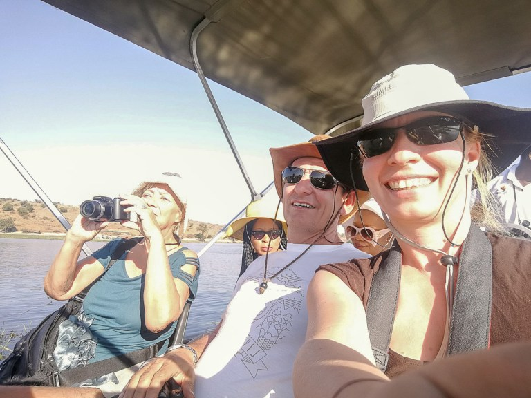 Chobe sunset cruise