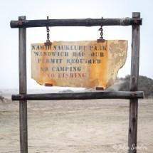 Sign Sandwich Harbour