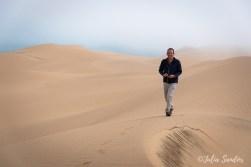 Walking on the dunes