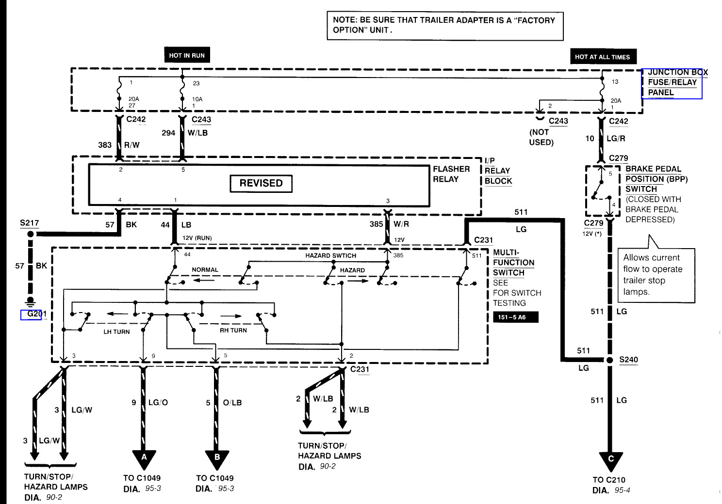 hight resolution of 1995 ford f250 trailer wiring diagram ford f350 trailer wiring diagram and trailerwiring01b amazing box