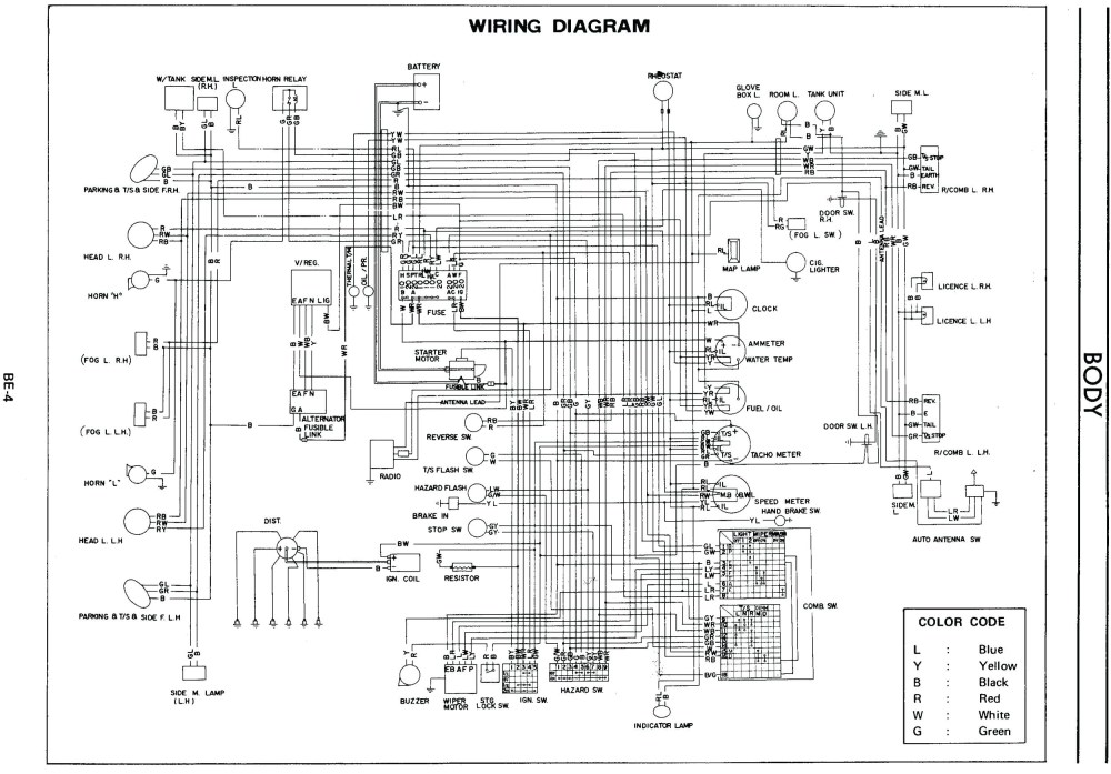 medium resolution of 1978 datsun 280z wiring harness diagram wiring diagram sheet