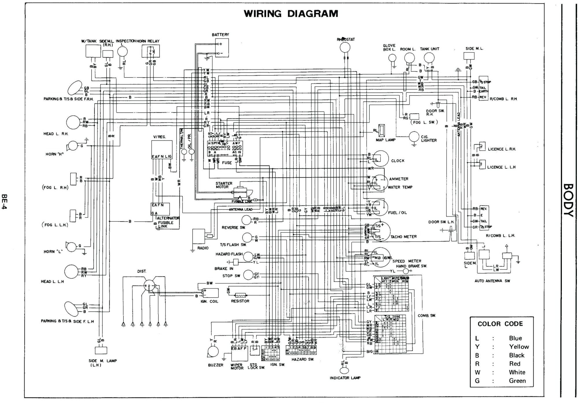hight resolution of 1978 datsun 280z wiring harness diagram wiring diagram sheet