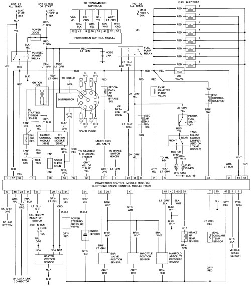 small resolution of 95 ford f150 ignition wiring diagram 1989 ford f150 ignition wiring diagram 1989 ford bronco