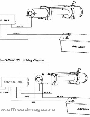 Chicago Electric Winch Wiring Diagram Sample