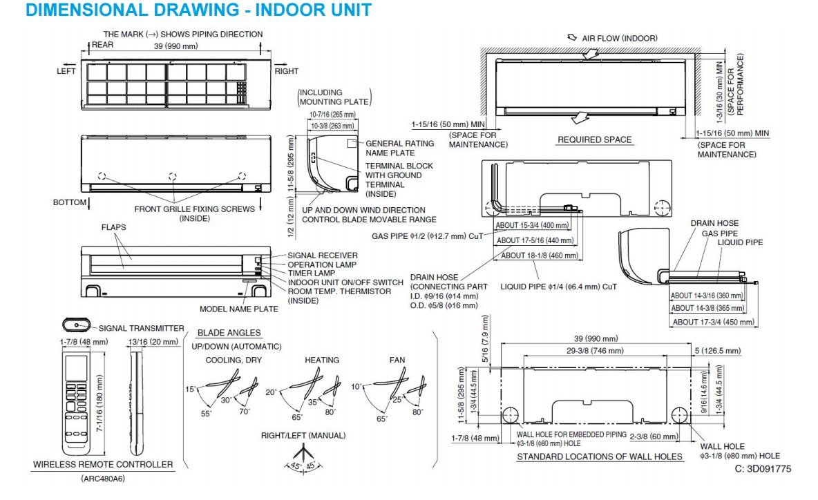 Daikin Inverter Air Conditioner Wiring Diagram