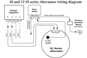 Delco 12si Alternator Wiring Diagram Sample
