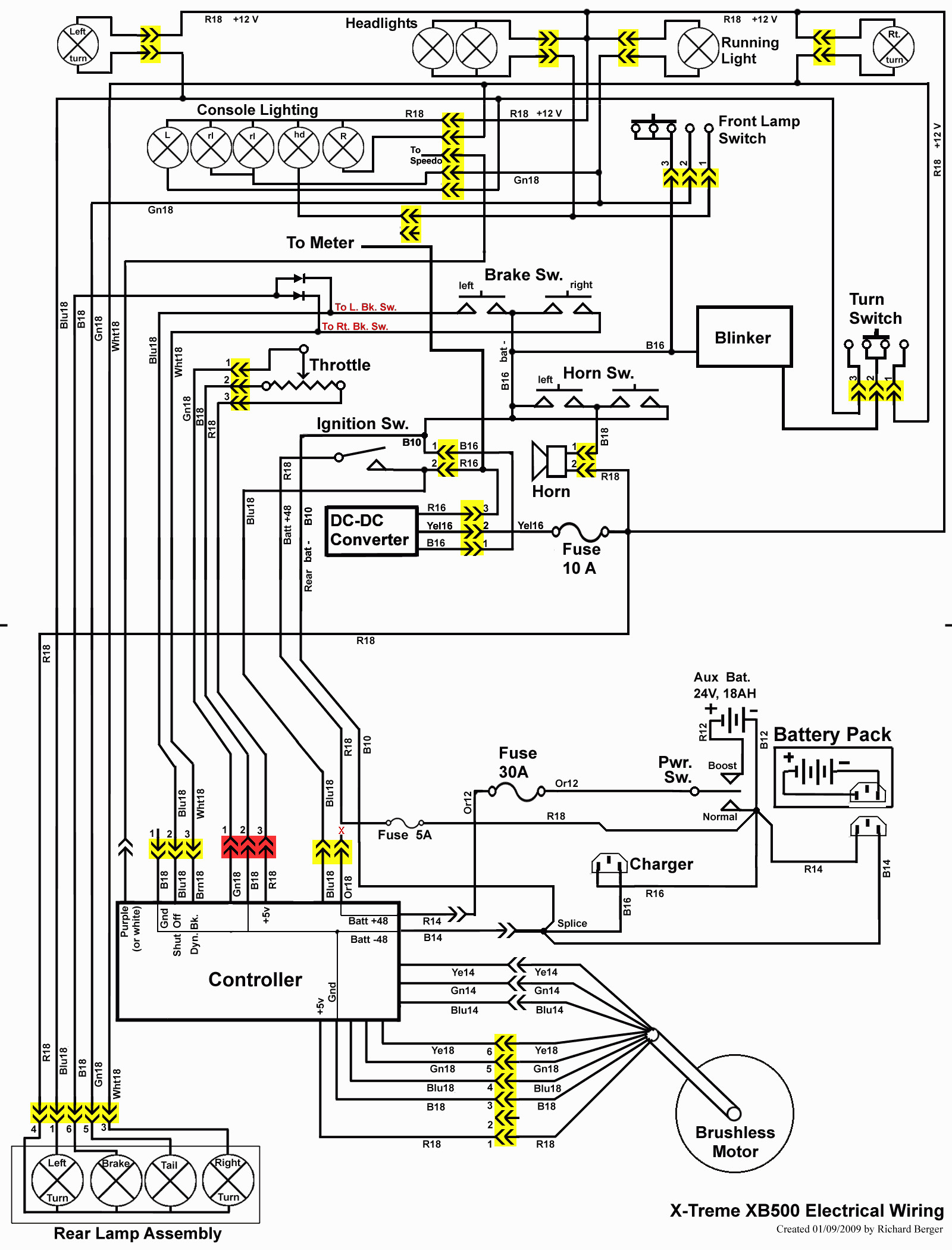 Car Flasher Brake Wiring Diagram
