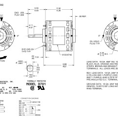 Fasco D701 Wiring Diagram - on