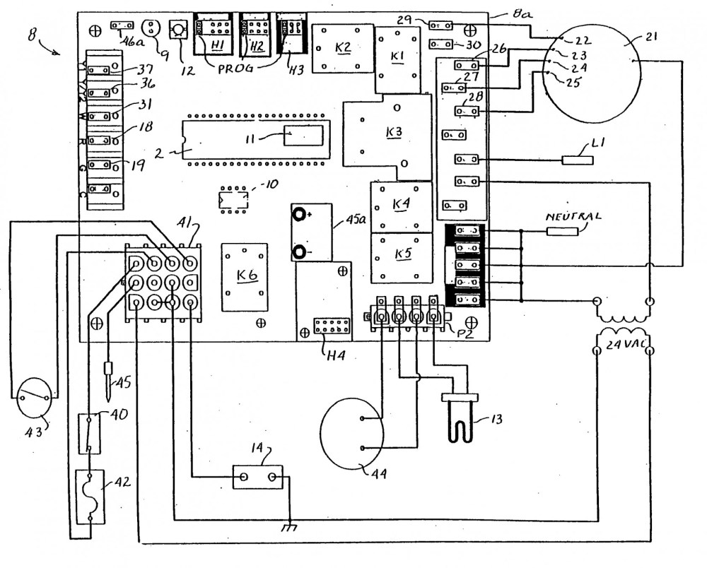 medium resolution of furnace control board wiring diagram wiring diagram for goodman gas furnace new goodman furnace control