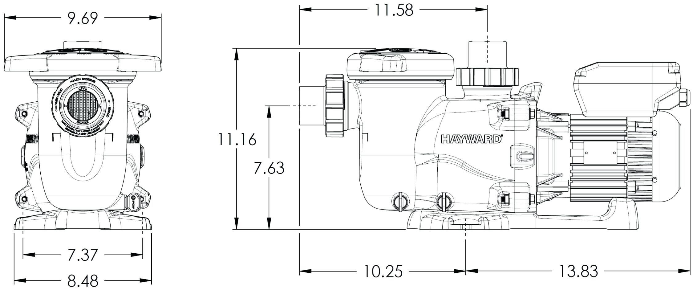 Find Out Here Hayward Super Pump 1.5 Hp Wiring Diagram