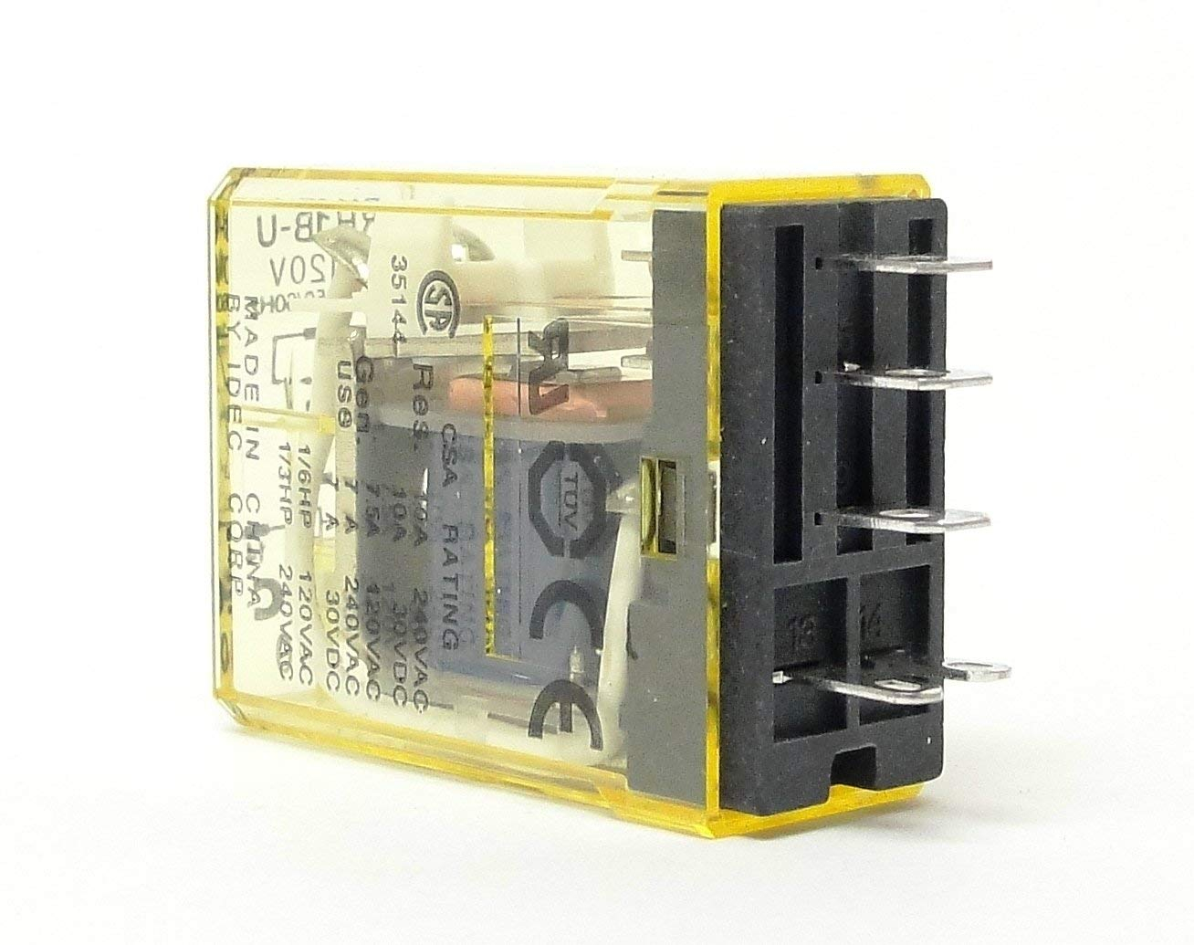 hight resolution of idec sh1b 05 wiring diagram idec rh1b uac120v power relay spdt 120vac 10a plug in