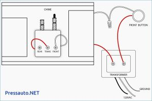 Gallery Of Nutone Doorbell Intercom Wiring Diagram Download