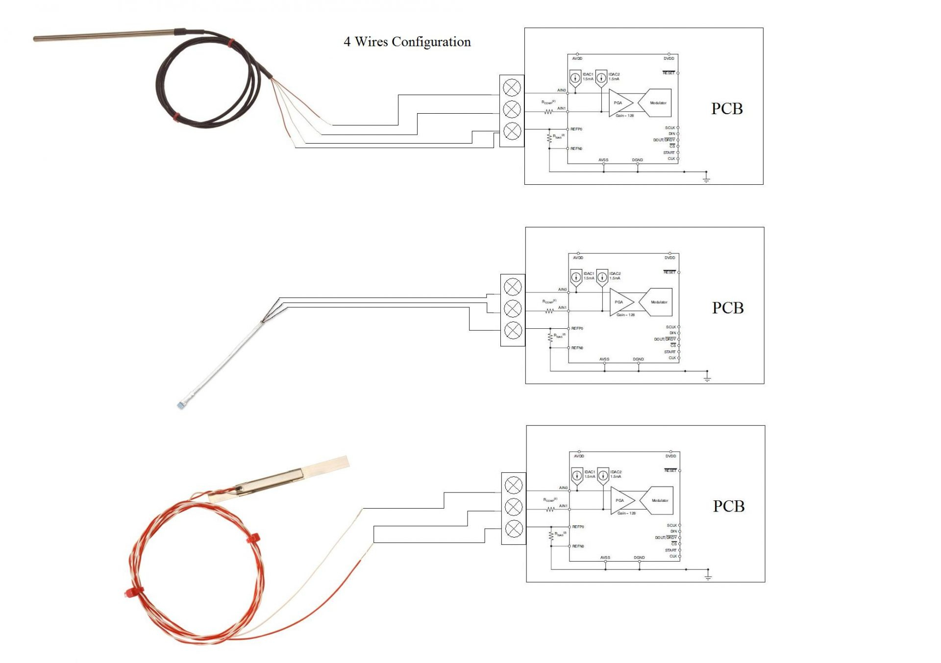 hight resolution of pt100 sensor wiring diagram thermocouple wiring diagram unique best 4 wire thermocouple gallery electrical circuit