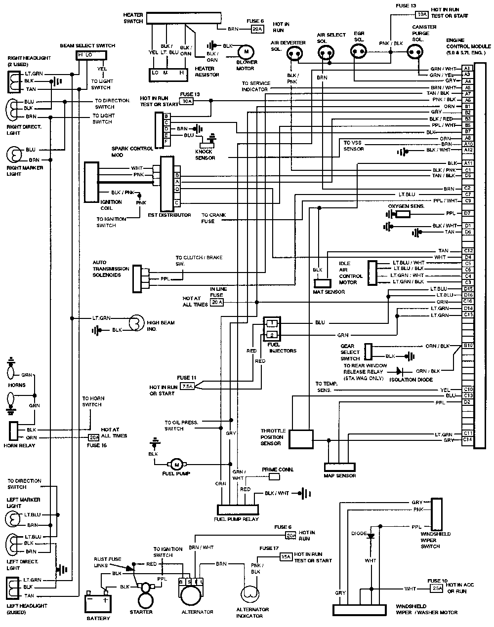 neutral safety switch wiring diagram 4l60e