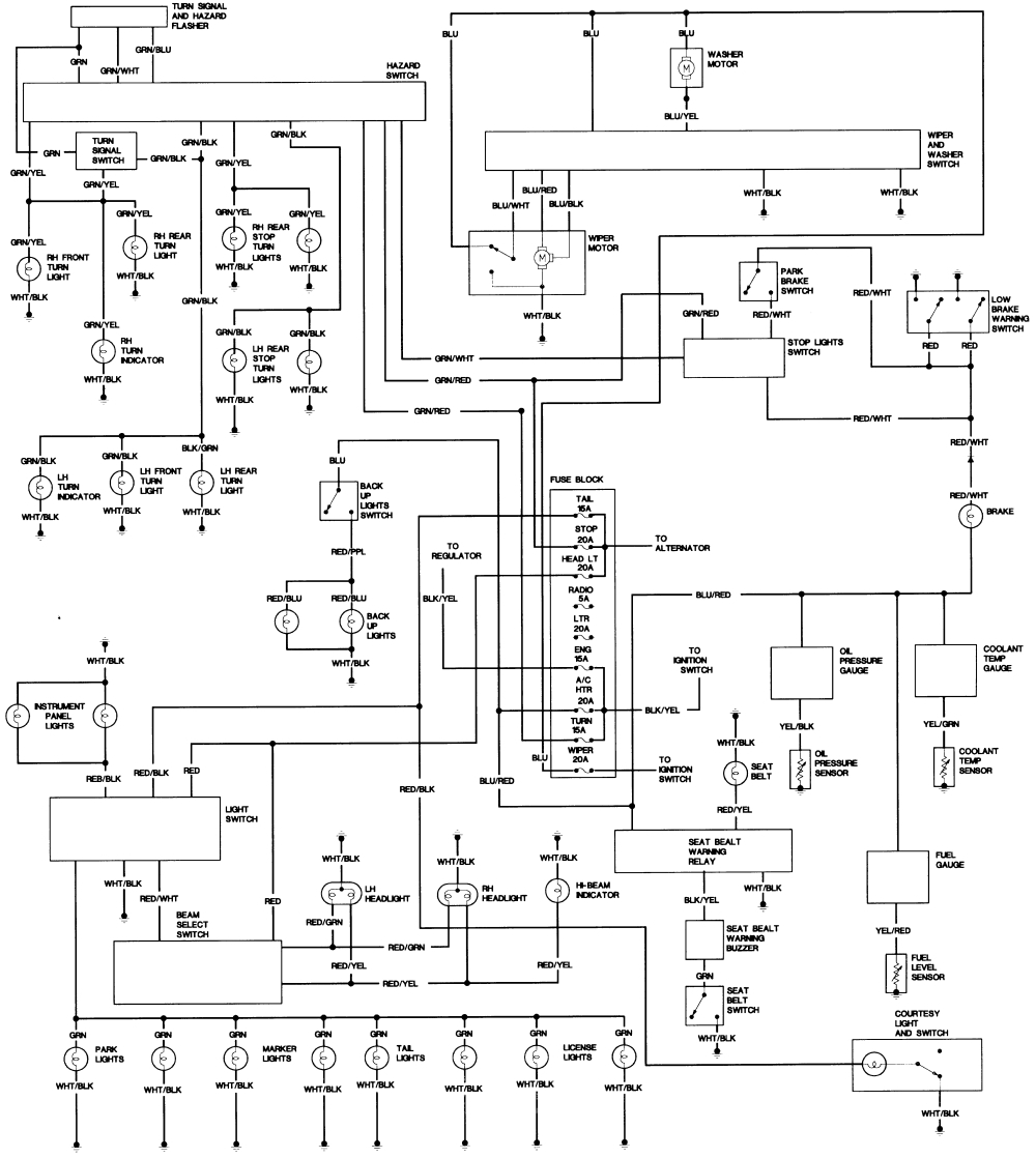 medium resolution of toyota pickup wiring diagrams free picture diagram schematic wiring diagram for 1986 toyota pickup fuse box