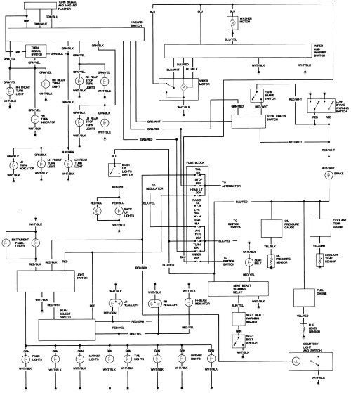 small resolution of toyota pickup wiring diagrams free picture diagram schematic wiring diagram for 1986 toyota pickup fuse box